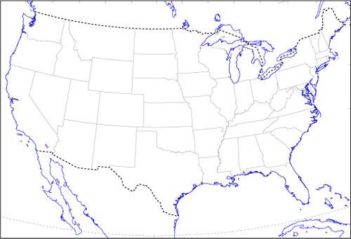 無料 アフリカ 白地図 無料 : アメリカ合衆国白地図