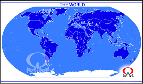 ���E�n�}11�@Map of the World5